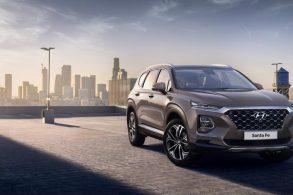 Hyundai Santa Fe 2019 tem detalhes revelados