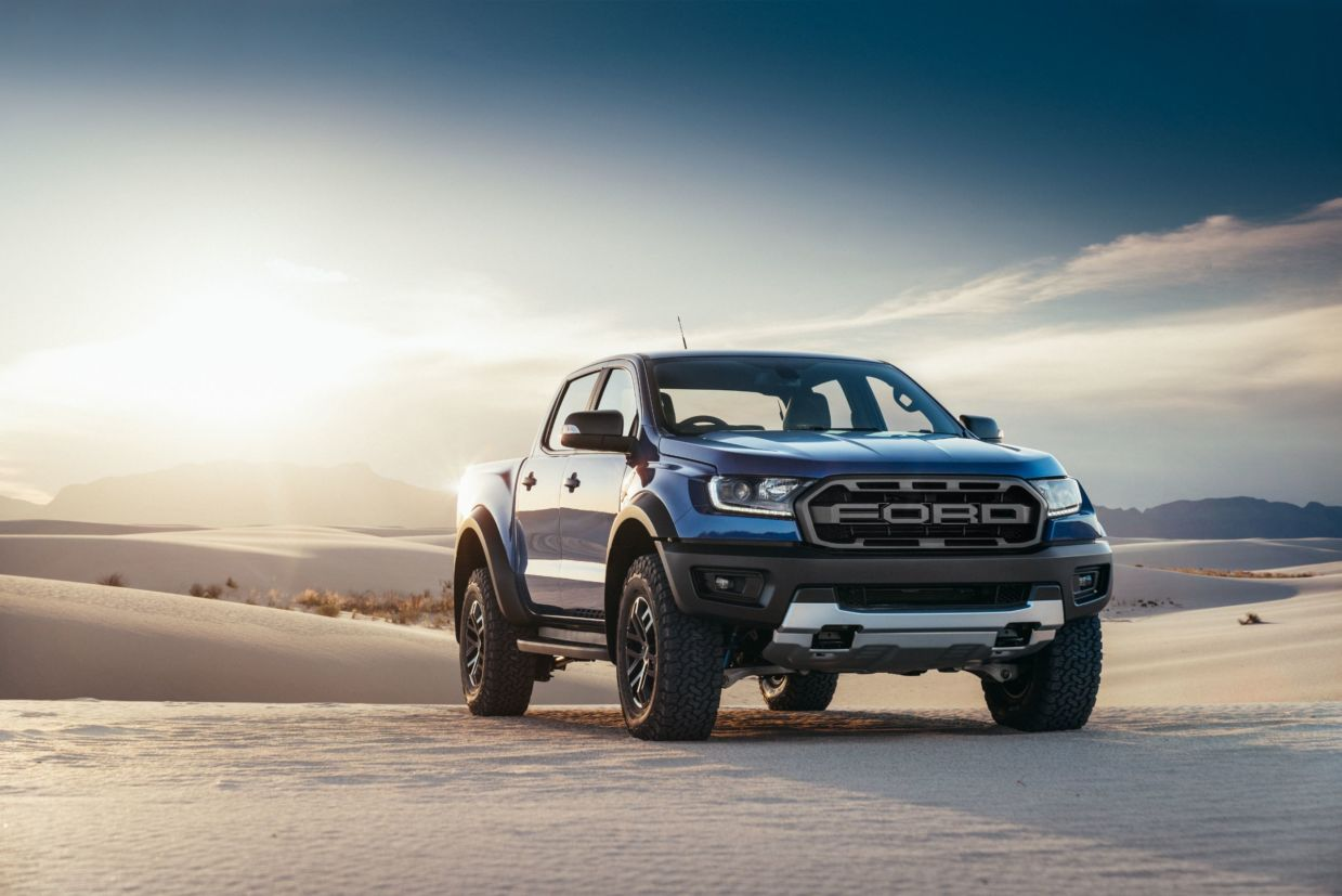 Ford Ranger Raptor é versão com maior capacidade off-road