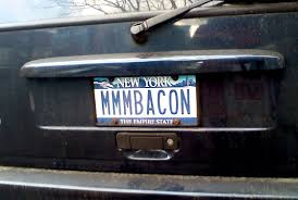 placas personalizadas dos Estados Unidos