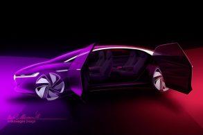 Volkswagen divulga novo conceito I.D. Vizzion