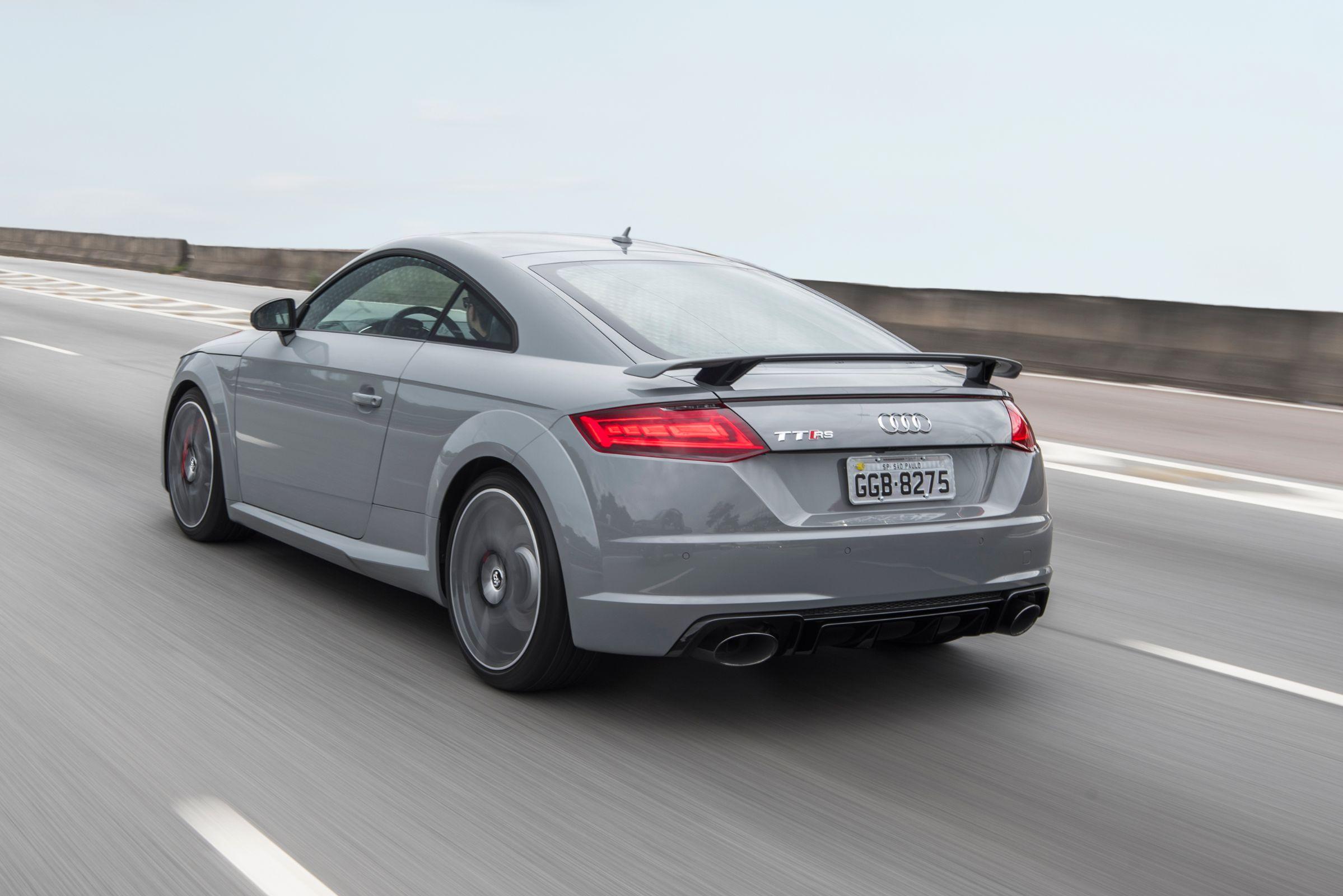 Tração integral é marca registrada do Audi TT RS