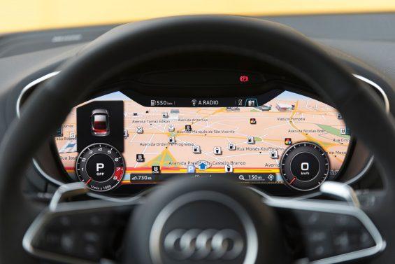 painel digital Audi TT RS 2018