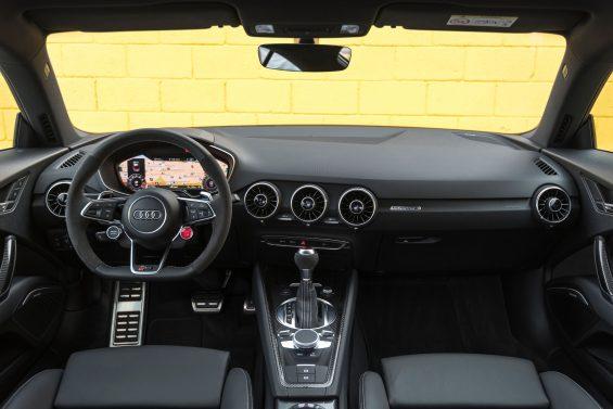 interior Audi TT RS 2018