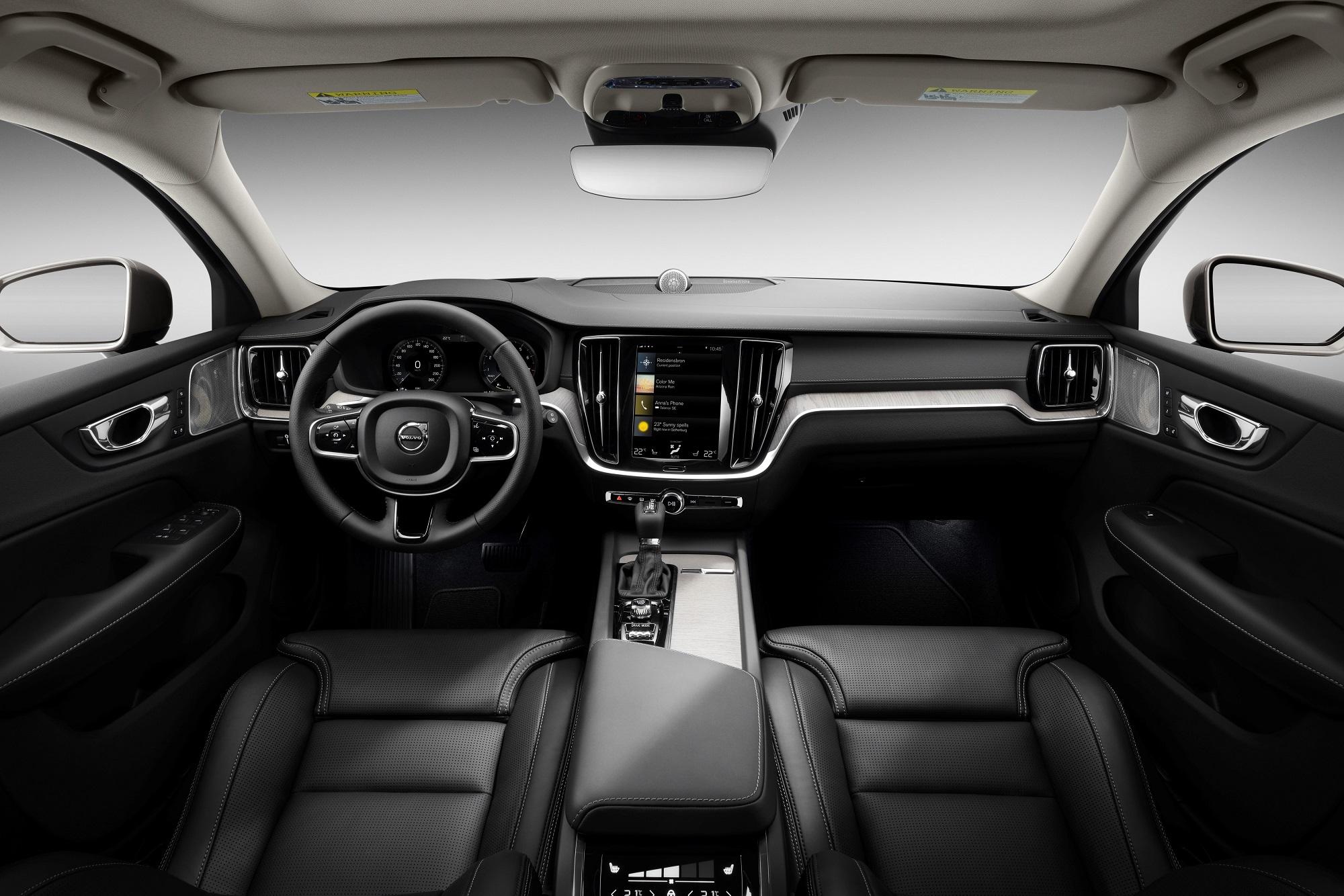 Interior do novo Volvo V60