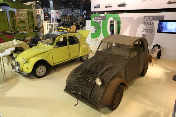 Citroën 2CV e seu protótipo