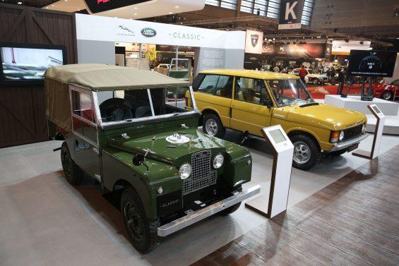 Estande da Land Rover