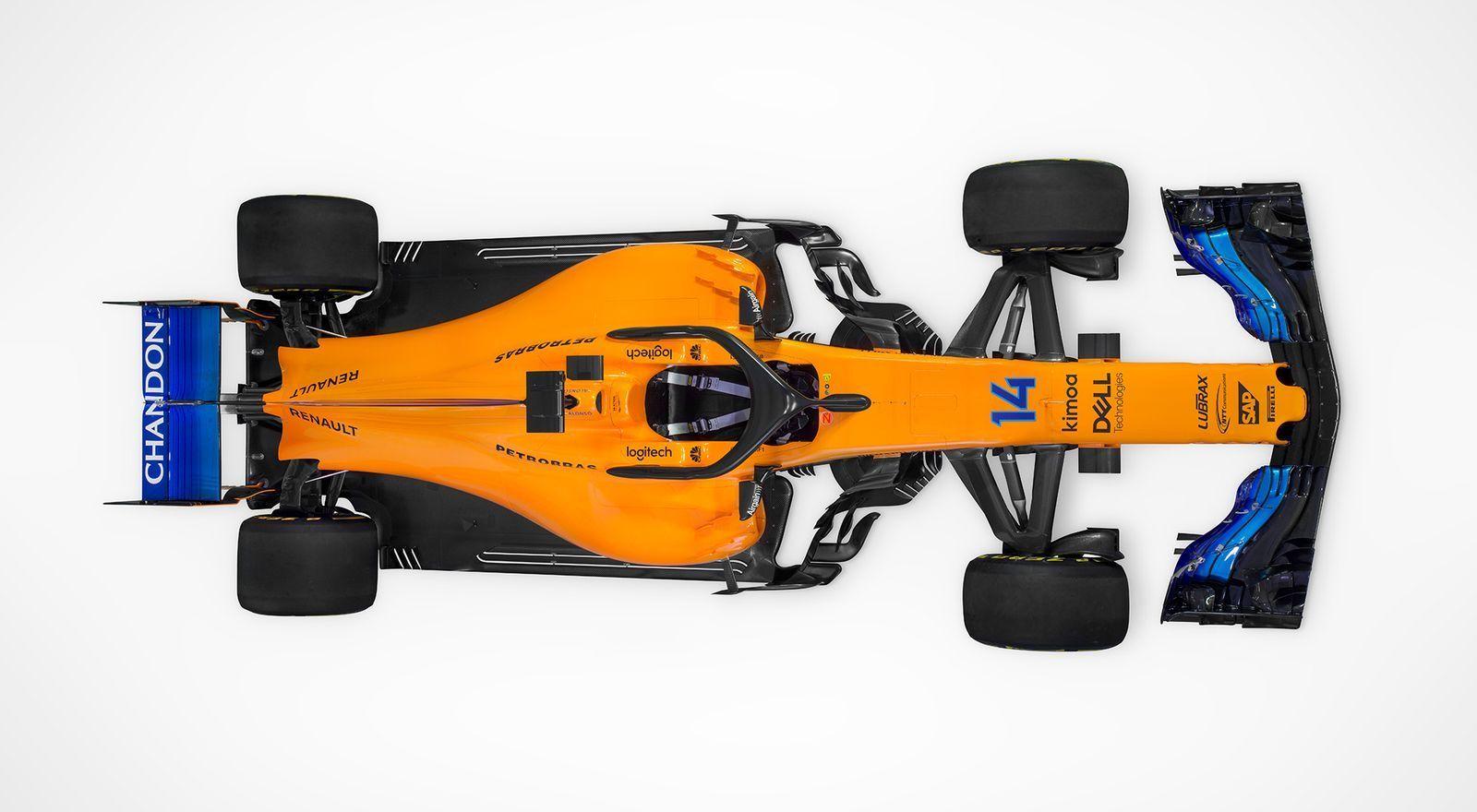 Ferrari, McLaren e Mercedes carros 2018