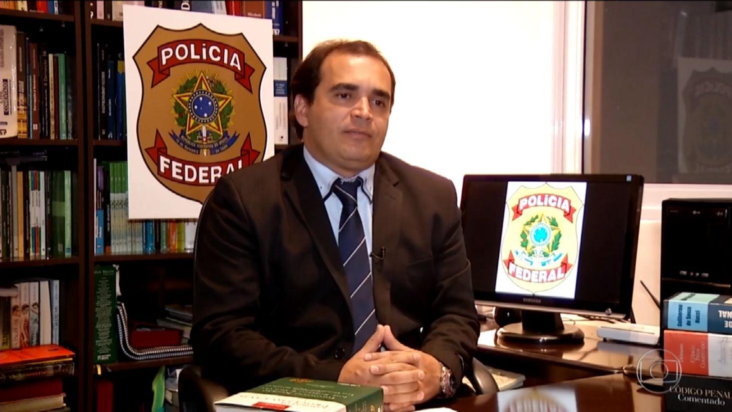 Delegado da Polícia Federal, Marcelo Freitas