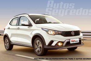 Fiat Argo aventureiro está a caminho