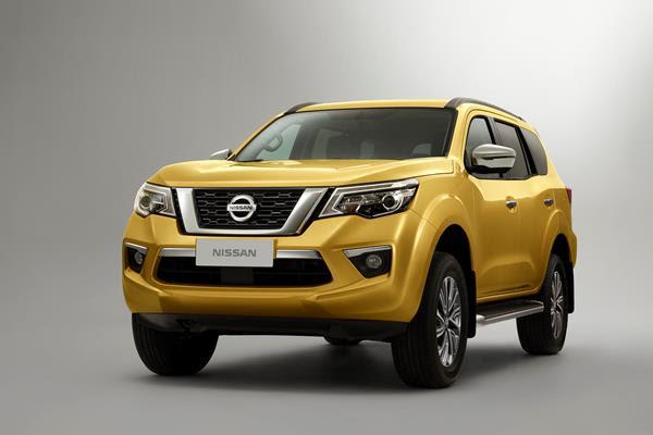 Nissan Terra, volta ao uso de chassis