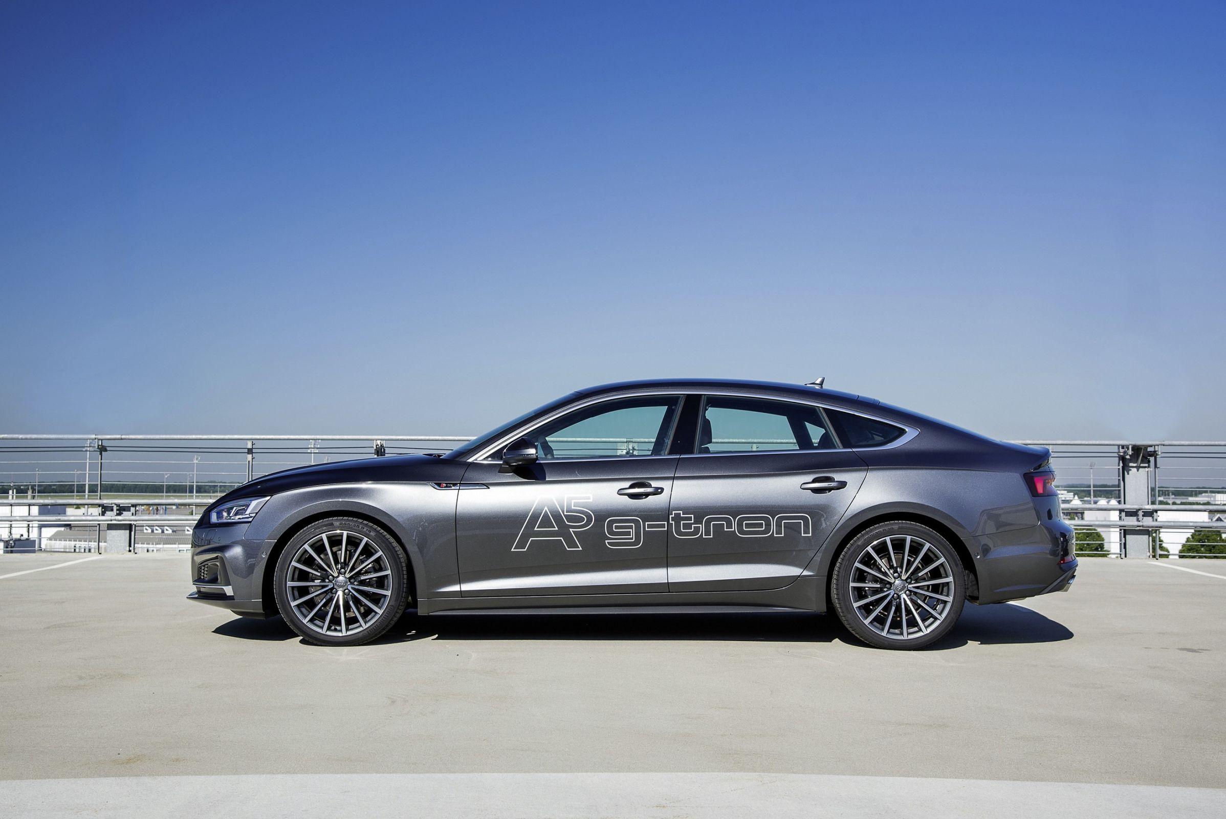 GNV sem adaptação: Audi A5 Sportback g-tron