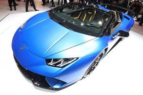 Lamborghini revela Huracán  Performante Spyder em Genebra
