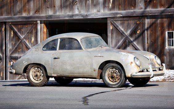 Porsche 356A 1500 GS Carrera Coupe vai a leilão