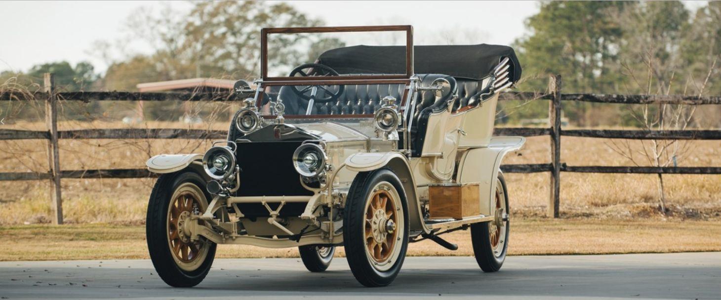 Rolls RoyceSilver Ghost Roi des Belges 1909