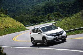 Novo Honda CR-V chega em abril por R$ 179,9 mil