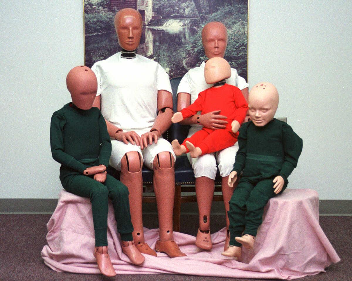 a família dos dummies hybrid iii
