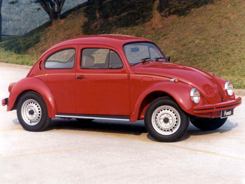 Carros com apelidos animais: Volkswagen Fusca é chamado de besouro