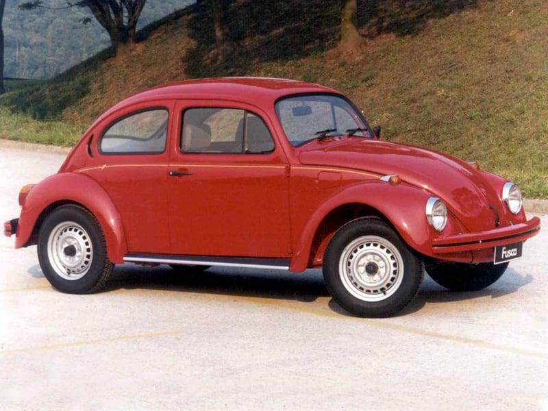 Nomes animais: Volkswagen Fusca é chamado de besouro