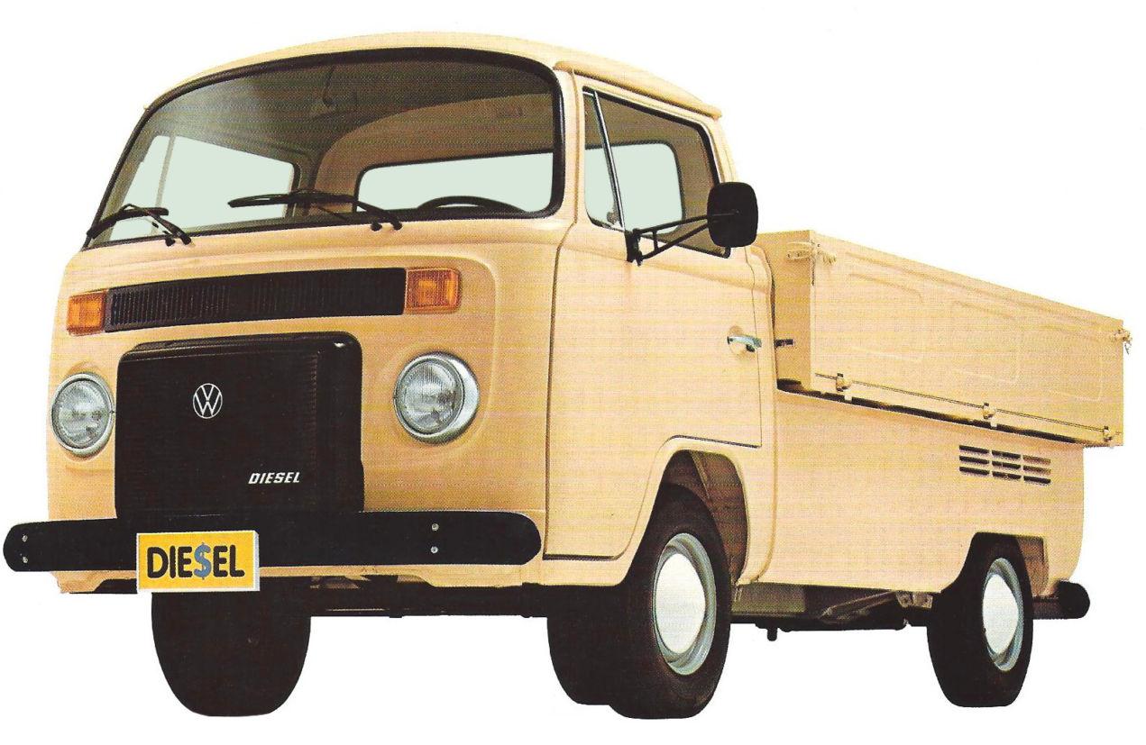 """Nomes animais: Volkswagen Kombi Pick-up é a """"cabrita"""" do asfalto"""