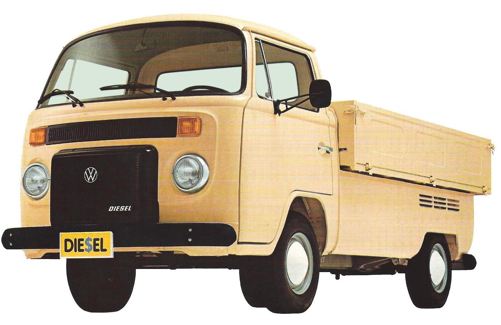 """Carros com apelidos animais: Volkswagen Kombi Pick-up é a """"cabrita"""" do asfalto"""