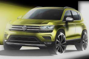 """Imagens revelam Tarek, o """"anti-Compass"""" da VW"""