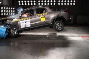 Modelo da Fiat finalmente vai bem em crash test