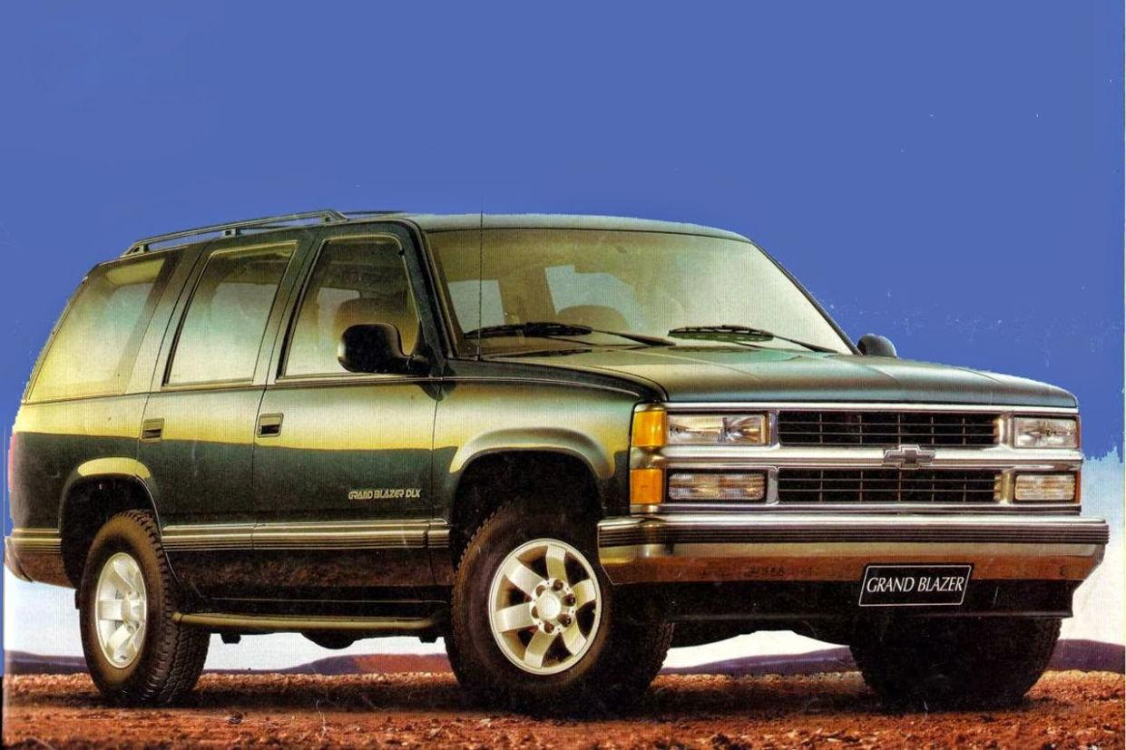 Chevrolet Grand Blazer está entre os carros esquecidos