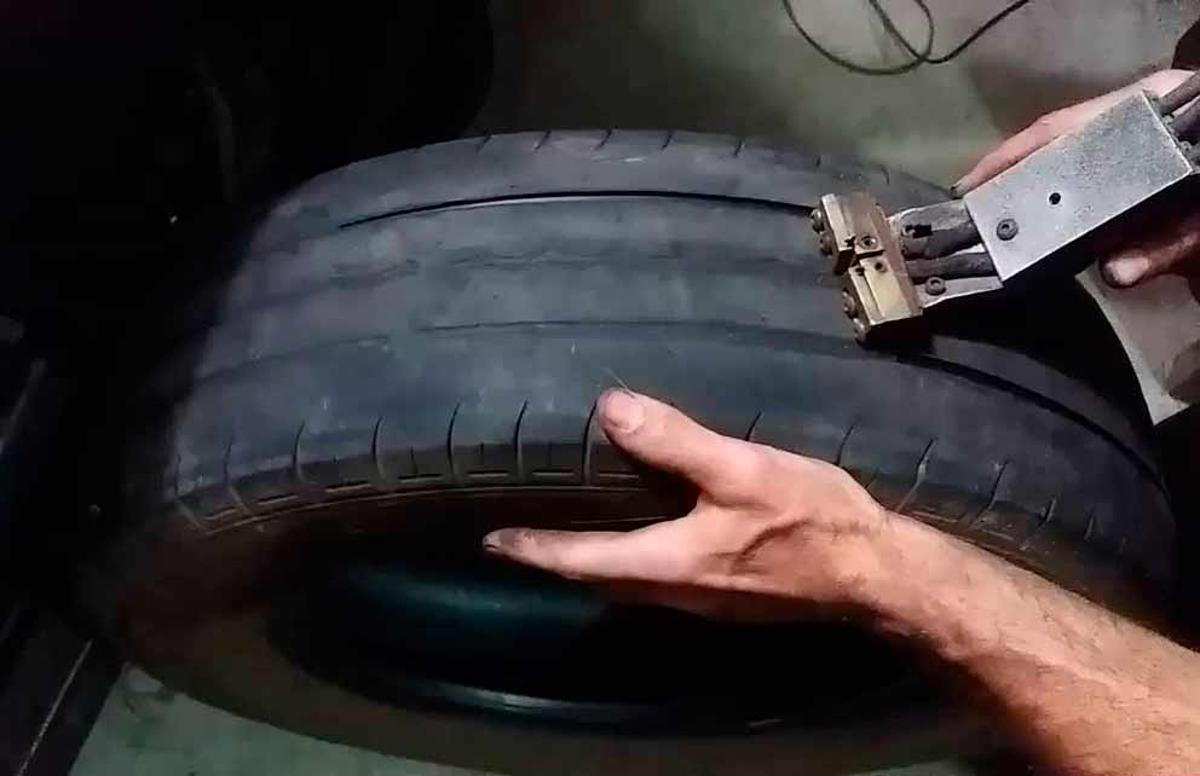 pneu frisado é diferente do pneu remold