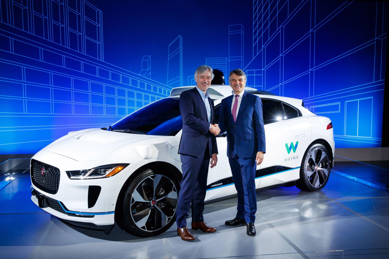 Jaguar e Waymo anunciam carro elétrico totalmente autônomo