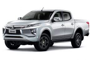Nova Mitsubishi L200 é flagrada na Ásia