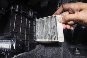 Qual foi a última vez que você fez a troca do filtro de cabine?