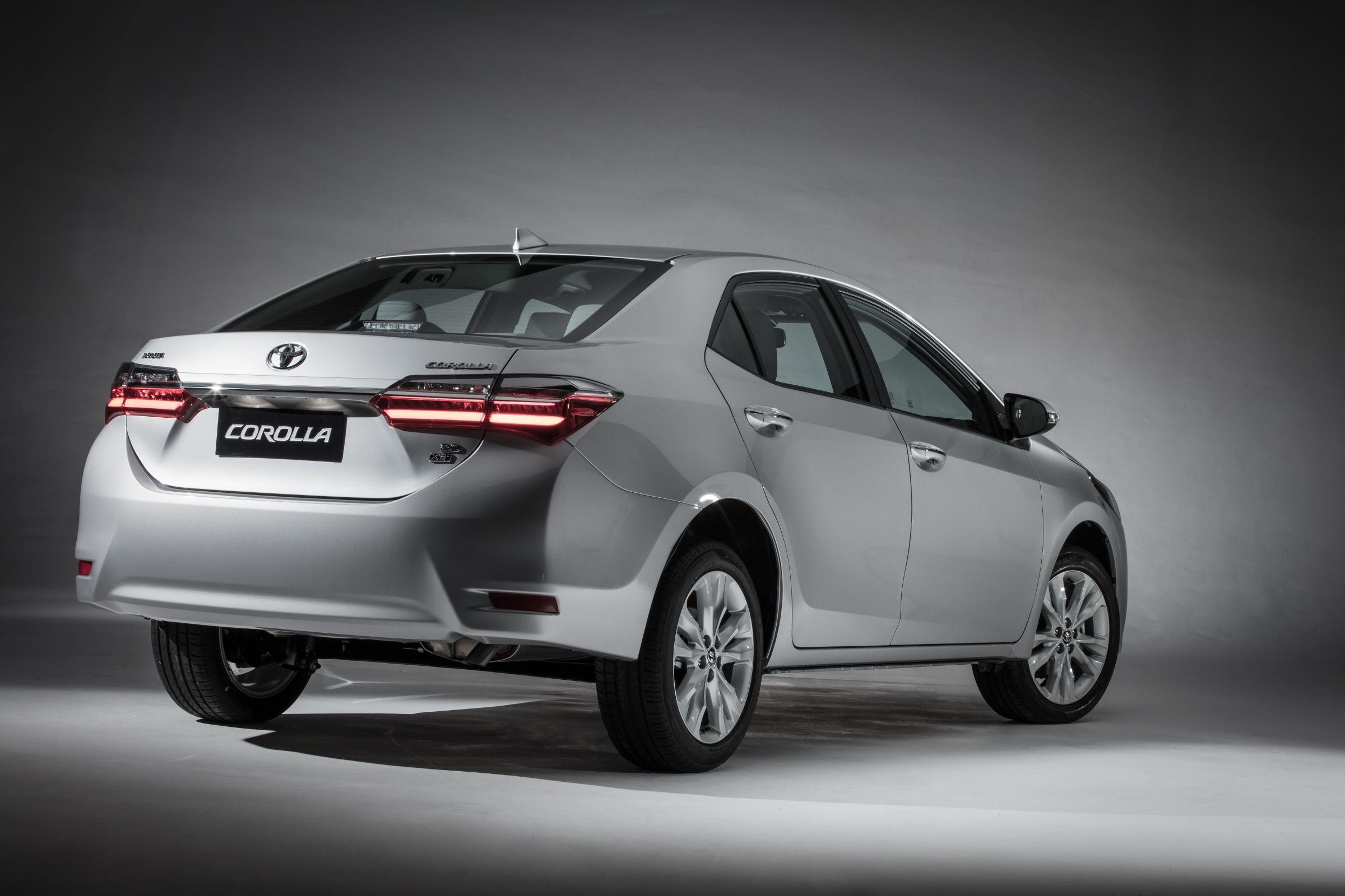 Toyota Corolla 2019 na versão intermediária XEi (Toyota | Divulgação) preços do corolla 2019