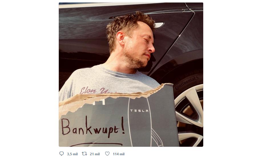 Empolgado com o resultado, e da sua maneira usual, Elon Musk aproveitou destaque do lucro da Tesla para anunciar planos de entrar no mercado de mobilidade.