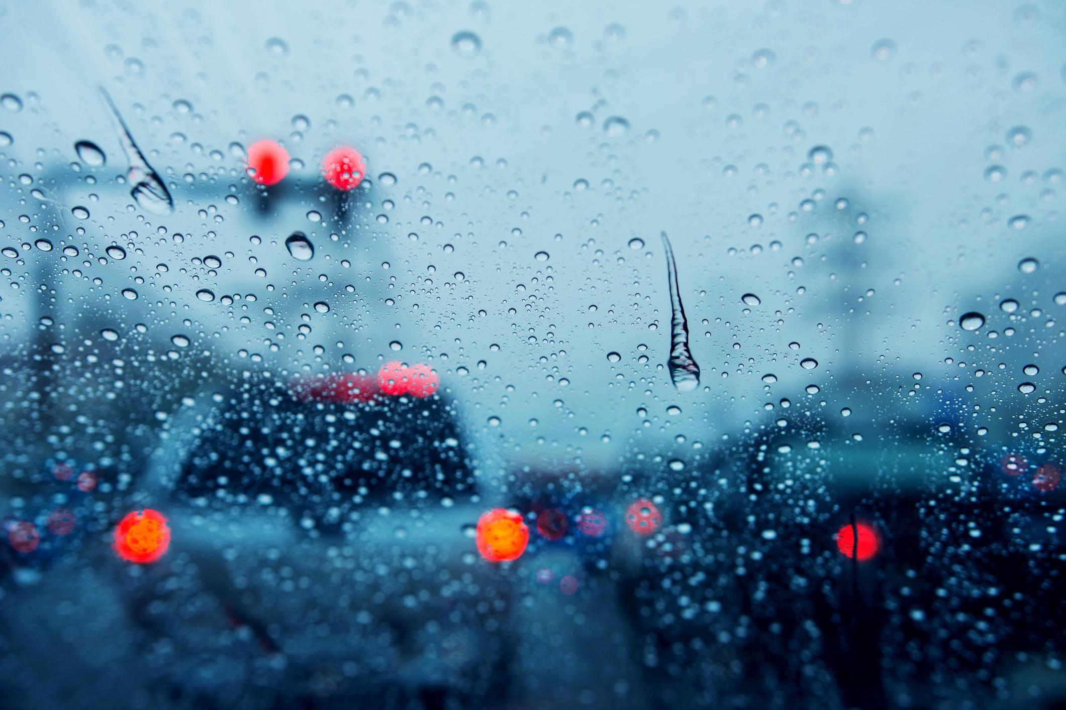 dirigir na chuva
