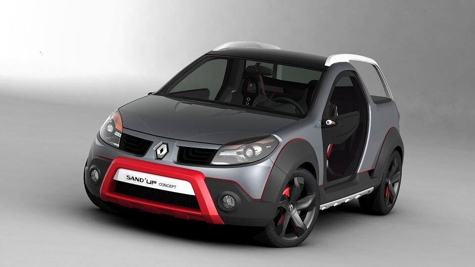 Renault Sandup: Carro conceito também é feito no Brasil! Separamos alguns que você precisa conhecer: picape do Opala, crossover 3 em 1, Parati EDP e mais!