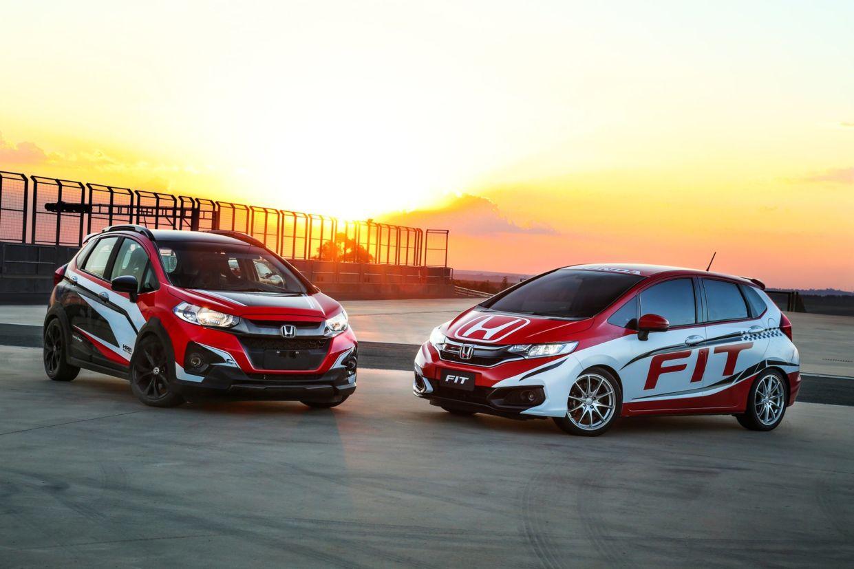 Honda Fit celebra 15 anos com 545 mil unidades no Brasil