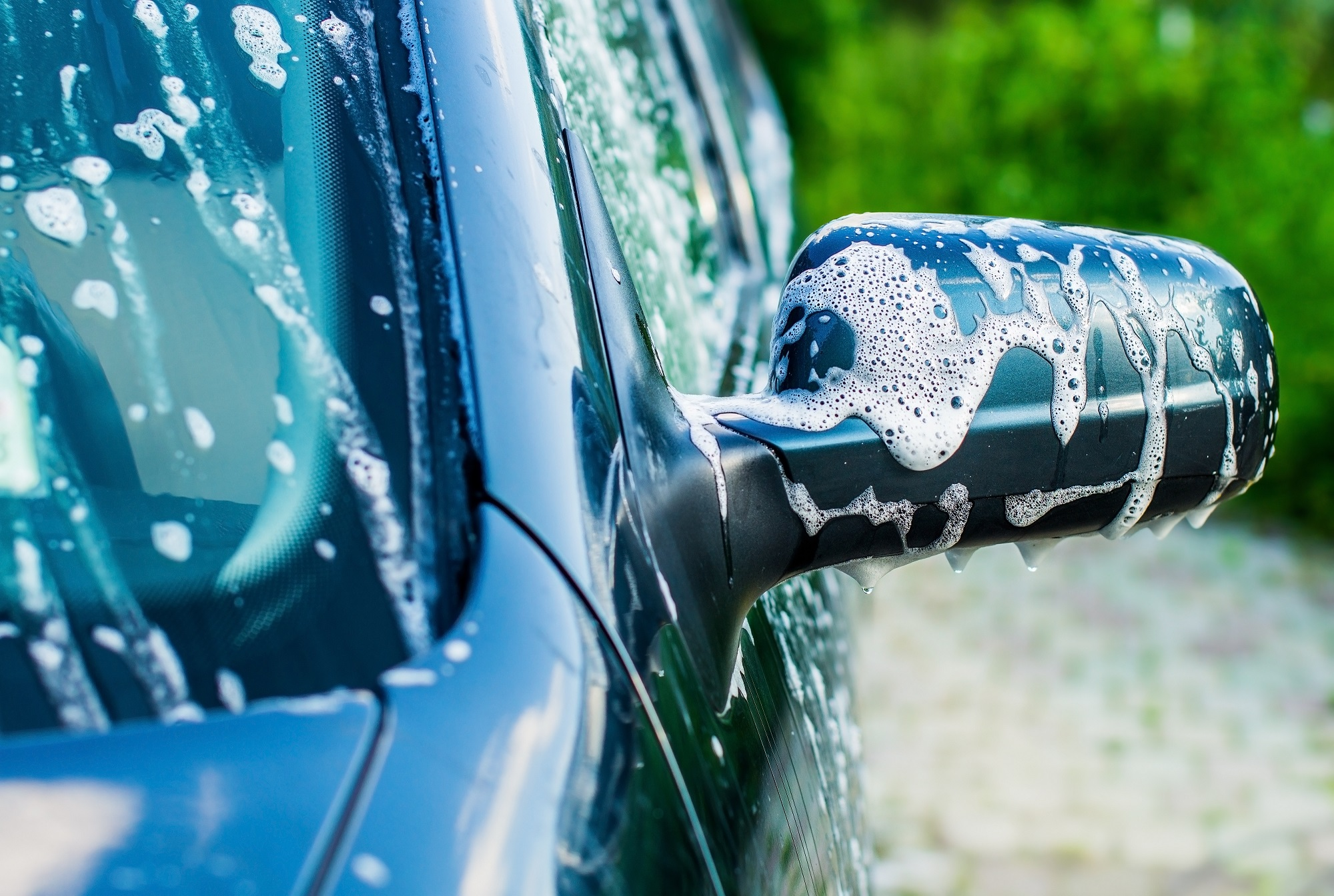 higienizacao automotiva lavar o carro sabao limpeza lataria