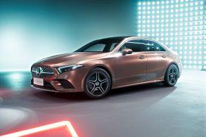 Em breve no Brasil, Mercedes apresenta Classe A sedã