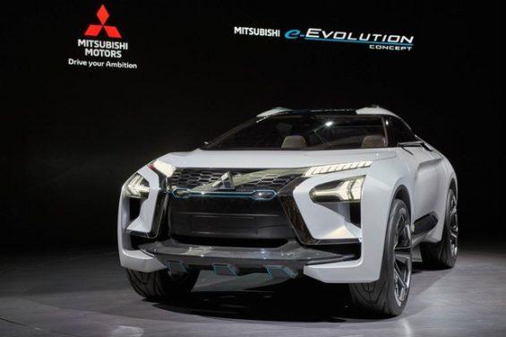 mitsubishi e evolution concept 1