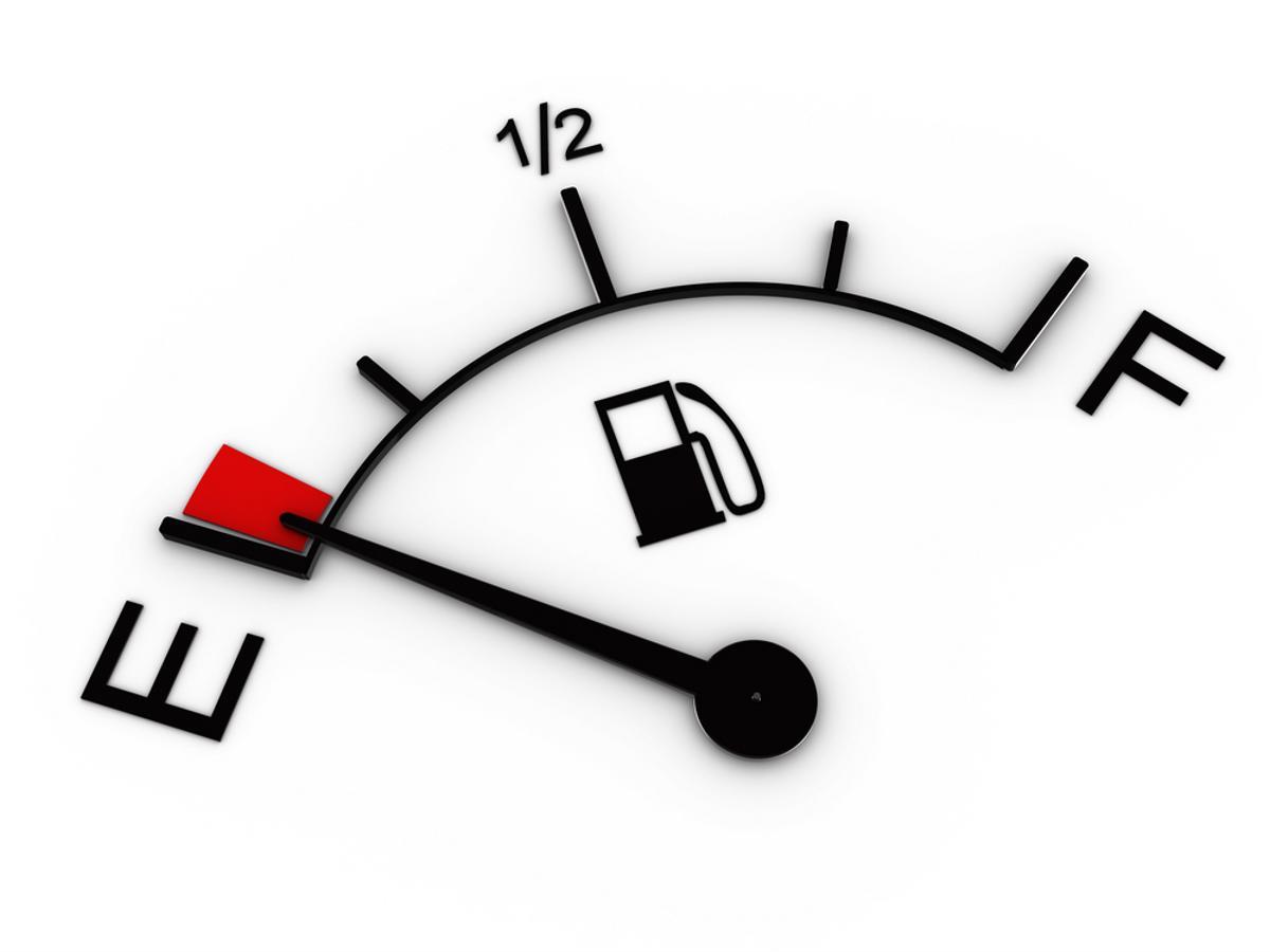 O combustível está acabando? O que fazer?