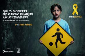 Trânsito é a maior causa de morte de jovens entre 10 e 19 anos