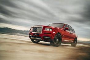 O SUV Rolls-Royce Cullinan: nome tão feio quanto…