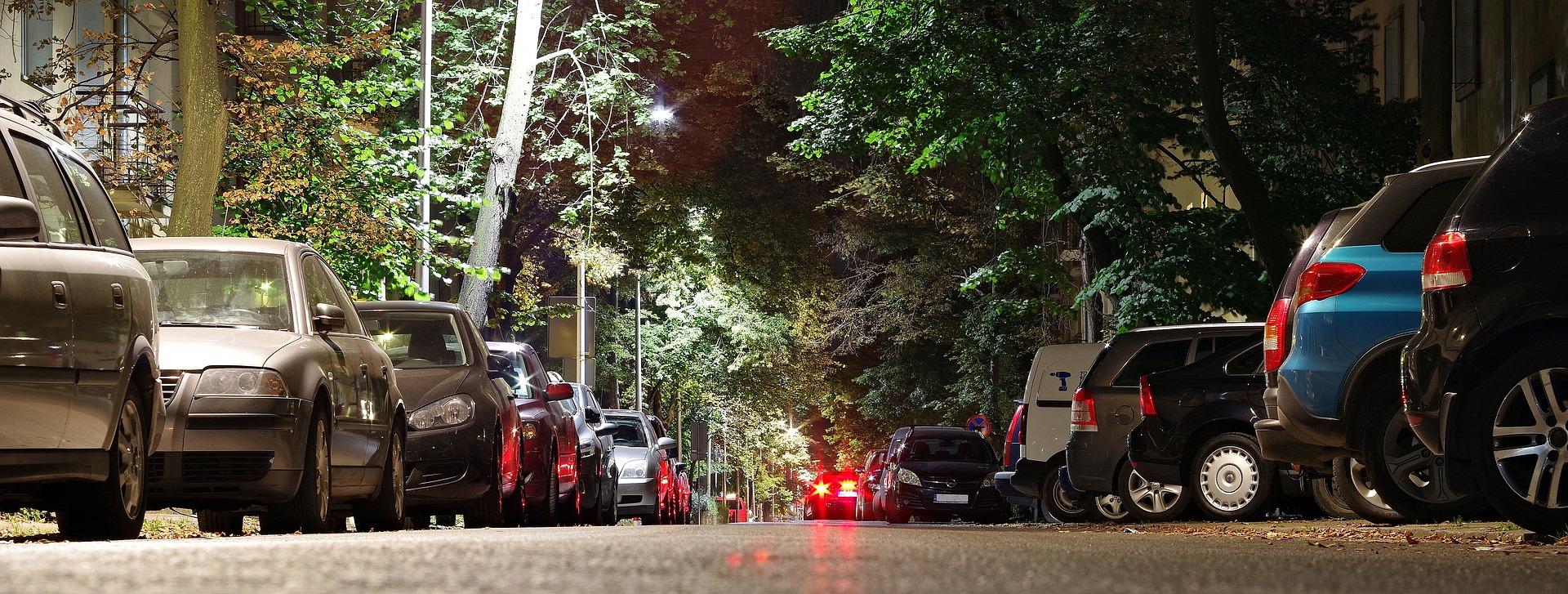 vagas de estacionamento chatos do trânsito