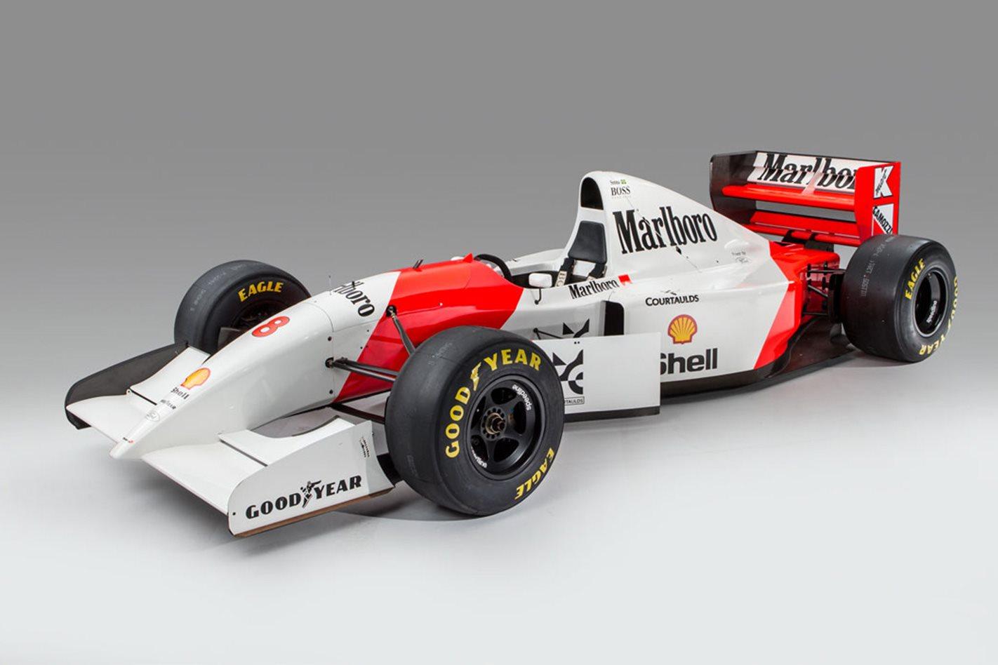 ayrton senna mclaren f1 1993 monaco
