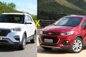 [Comparativo] Chevrolet Tracker Premier x Hyundai Creta Prestige