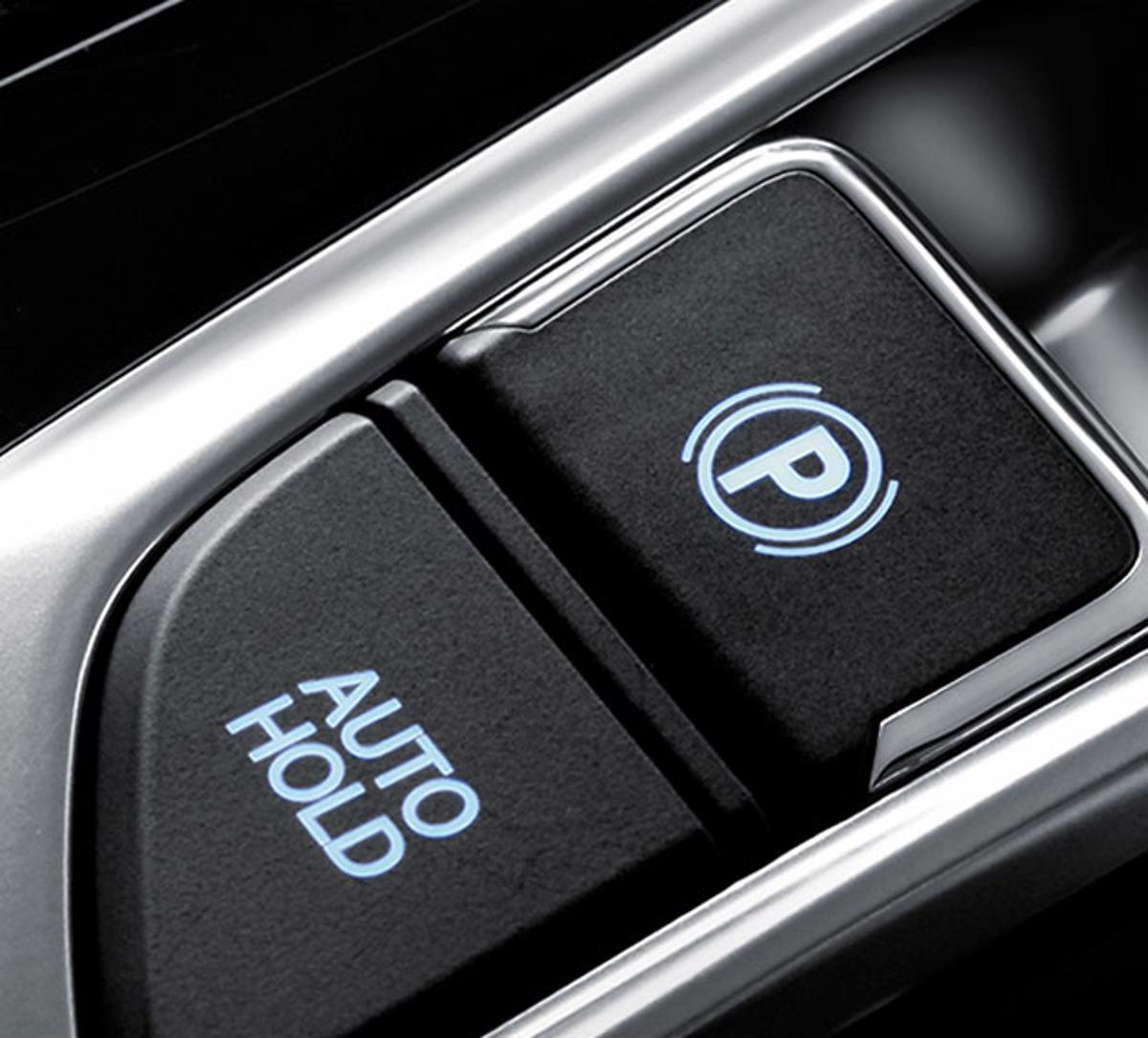 freio eletrico  auto hold auxiliar de partida em rampa