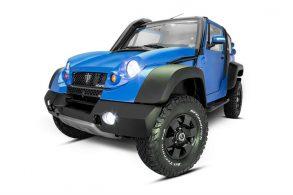 TAC Motors volta a vender, sob encomenda, o jipe Stark