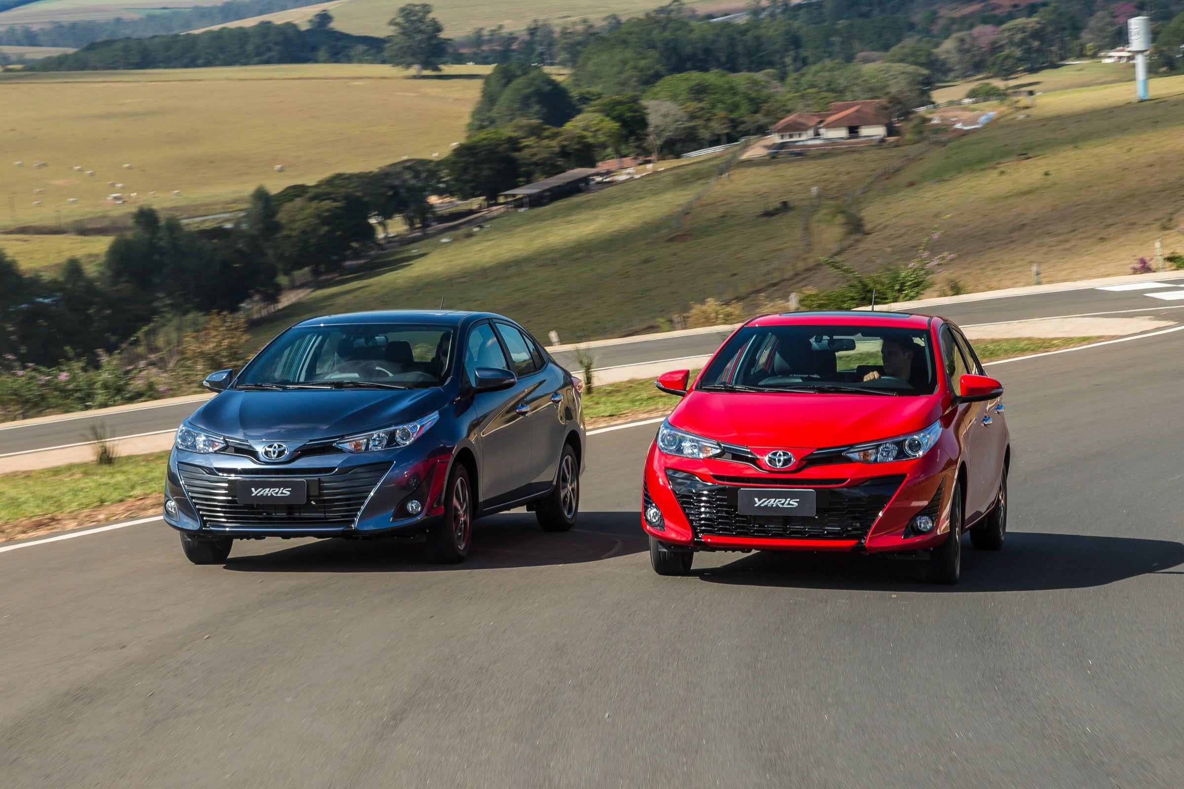 Toyota Yaris está posicionando entre o Etios e o Corolla