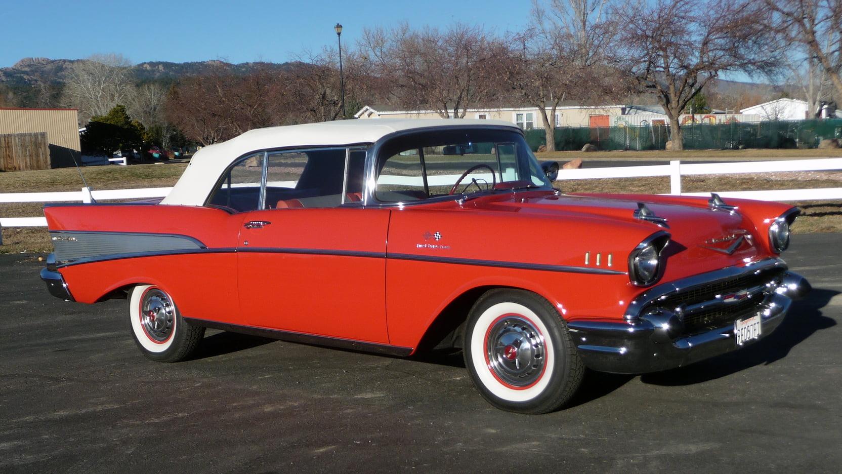 Chevrolet Bel Air 1957 leilões de carros antigos