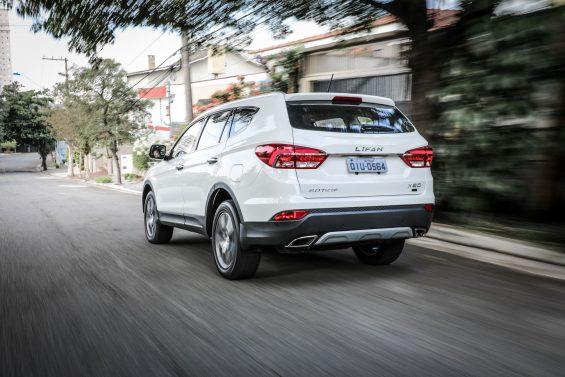 Lifan lançou o X80, com preço de R$ 129.777. SUV com porte entre os modelos médios e grandes tem espaço para sete ocupantes e motor turbo.